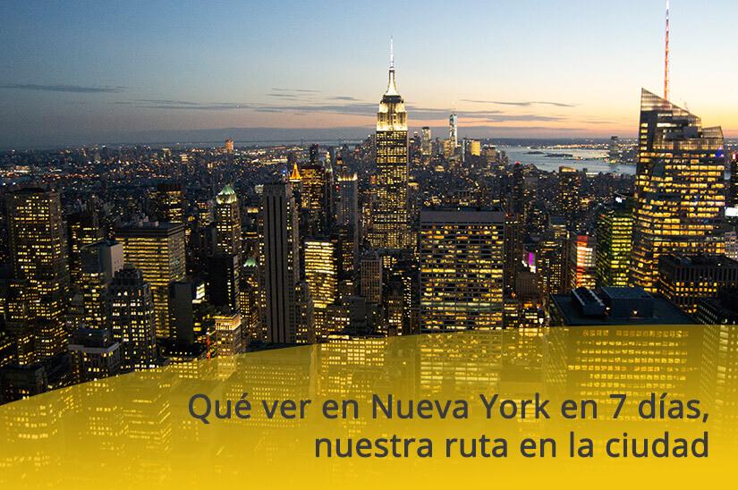 Qué ver en Nueva York en 7 días, nuestra ruta en la ciudad