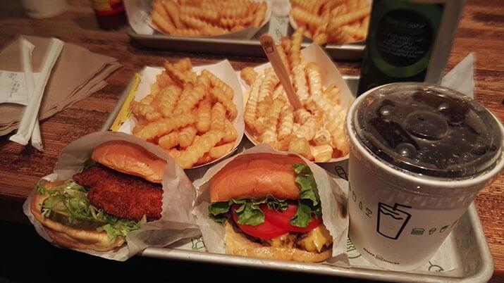 hamburguesas shake shack