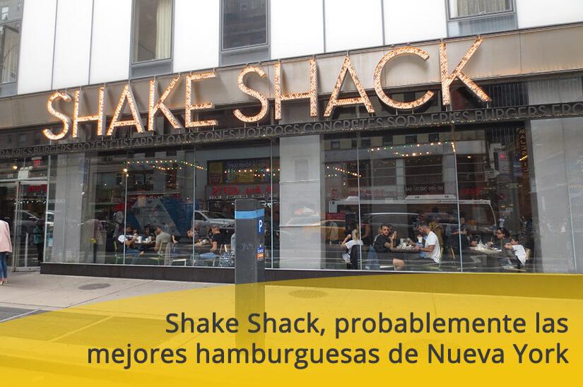 Shake Shack, probablemente las mejores hamburguesas de Nueva York